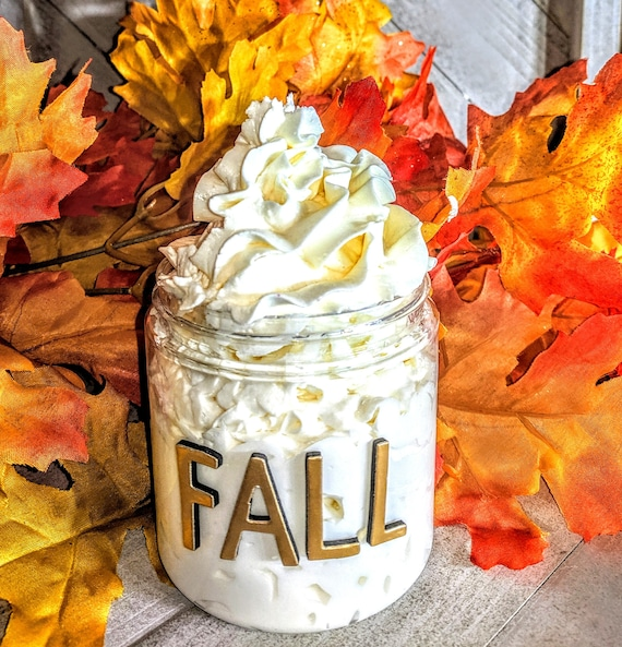 Homemade Autumn Delight Fall August Homemade Lotion Moisturizer Shea Butter Women gift
