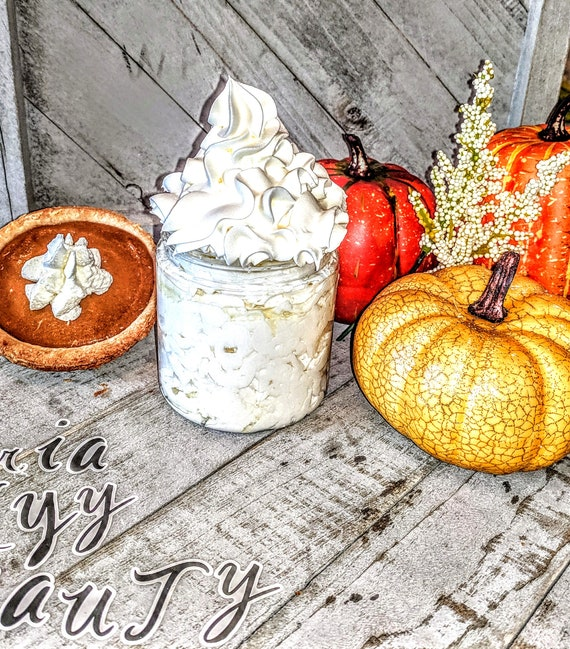 Homemade lotion Pumpkin Pie Autumn Fall