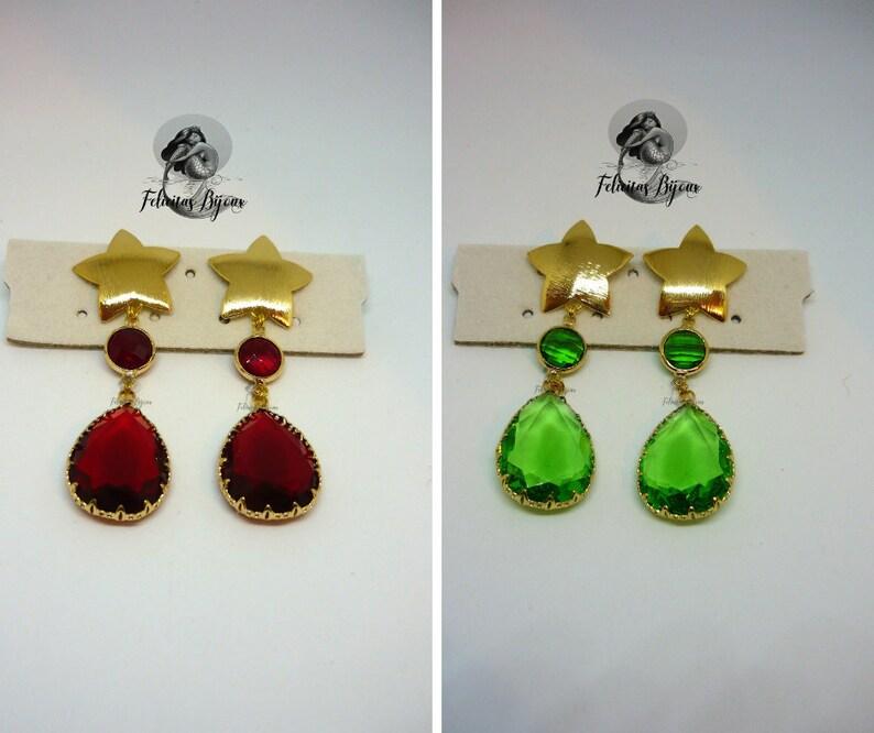 Perseid earrings image 0