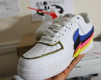 timeless design a01e3 c3f03 Aangepaste Nike Air Force 1 1  Adidas Vans Jordanië Converse sneaker Air  Max Hypebeast authentieke Old Skool Unisex Women s Men s schoenen