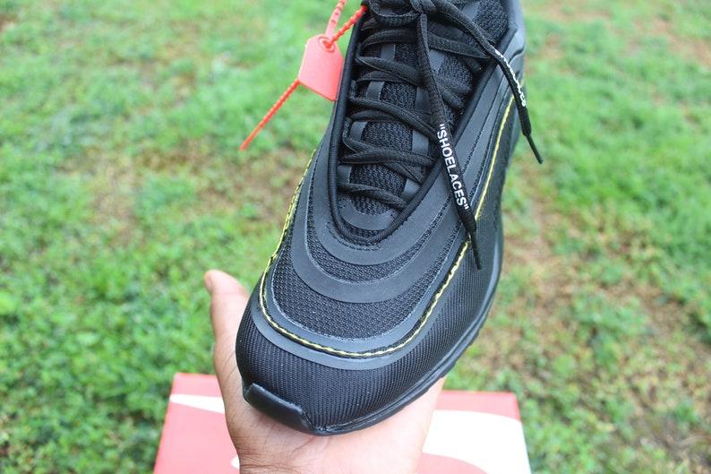 7c93e8688d0e6 Nike Air Max 97 Off Inspired Custom Design Men Women Sizes Luxury Brand  Shoes