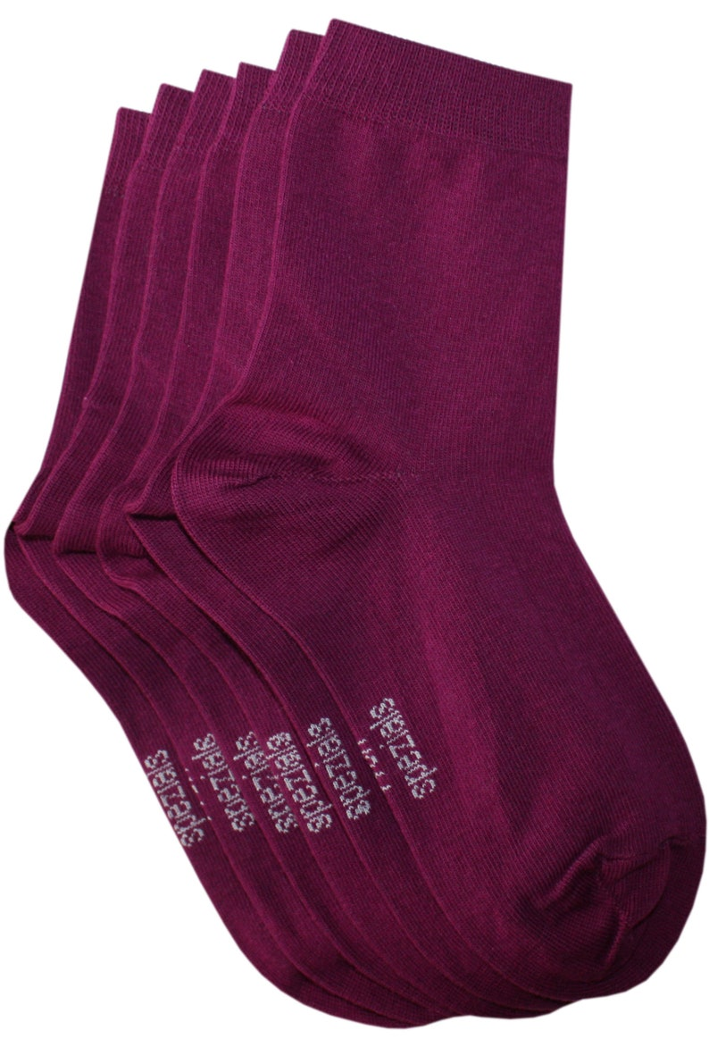 WERI SPEZIALS teenagers and adults in the colour dalie 3 Pair Pack Socks for children