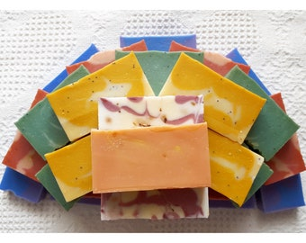 Coconut collection - Vegan soap Natural body care, Handmade soap, Cold process soap, Natural colors, Natural aroma