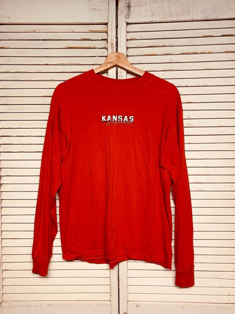 Vintage Kansas Jayhawks longsleeve Shirt (m)