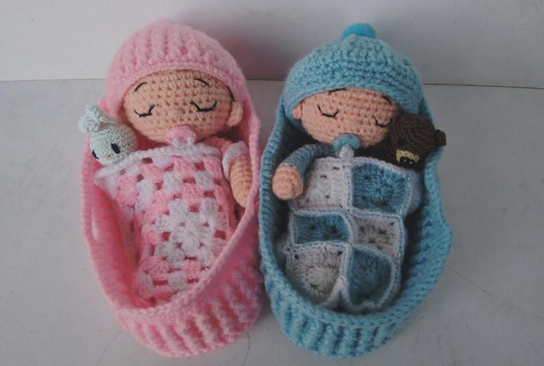 Baby Twins Vina /& Vino Amigurumi Pattern