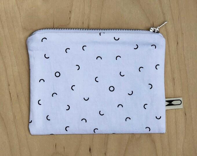 Mini zipper coin purse   Divots