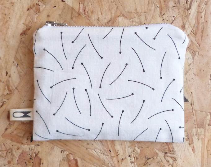 Mini zipper pouch | Pins