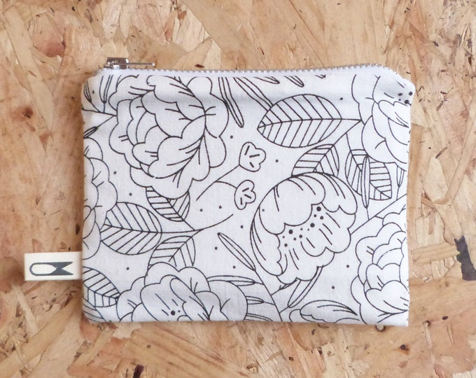 Mini zipper pouch | Floral