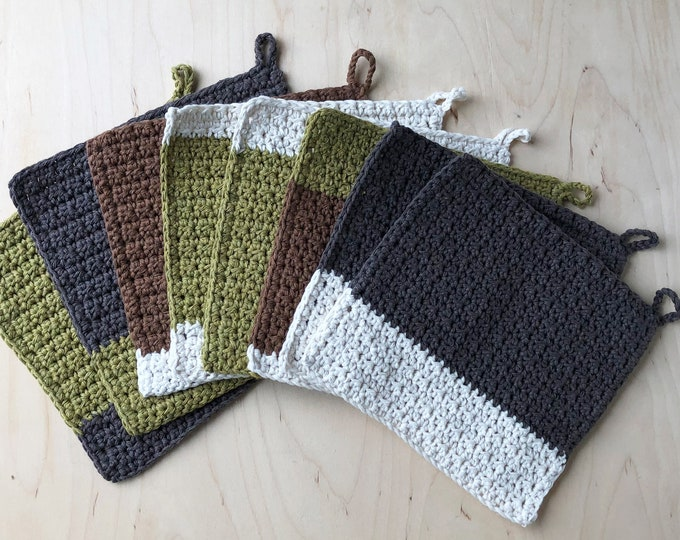 100% Recycled Cotton Dishcloth