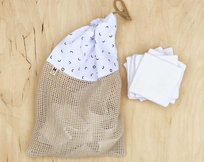 Cotton Wash Bag - Divots