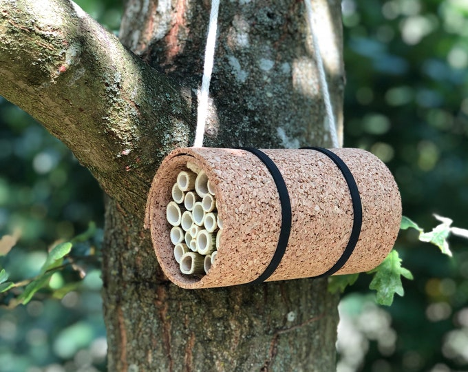 Upcycled Bee Hotel