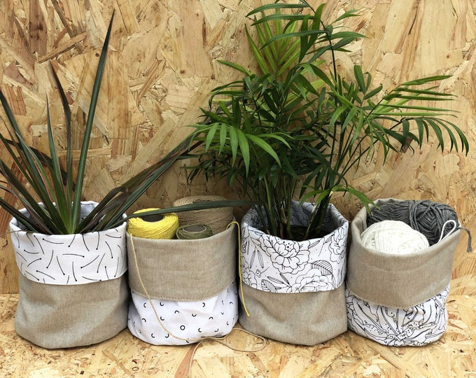 Reversible x-small planter