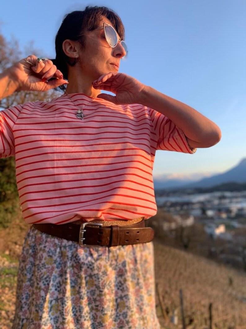 Lucette short-sleeved T-shirt