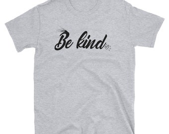 da44551b26c Be kind. Tee t-shirt shirt adult unisex be kind to each other vintage quote  happy positive tee be kind shirt - Be kind. sweatshirt quote hap