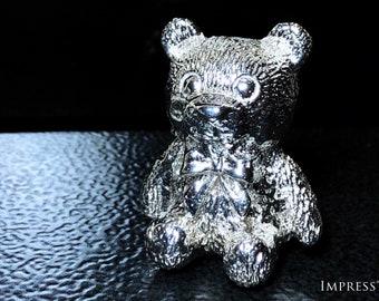 Silver Teddy Bear