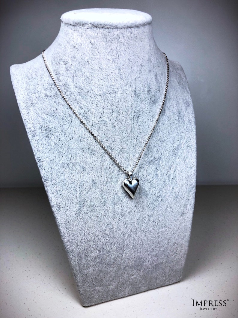 Silver Heart Pendant image 0