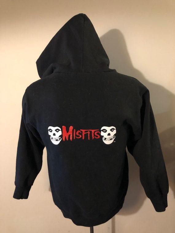 Vintage Misfits Hoodie Crimson Ghost