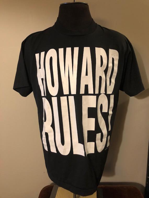 Vintage Howard Stern Shirt HOWARD RULES! 1993