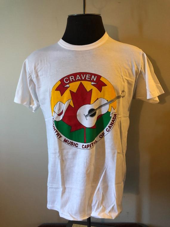 Vintage Craven Country Music Festival Shirt 90's