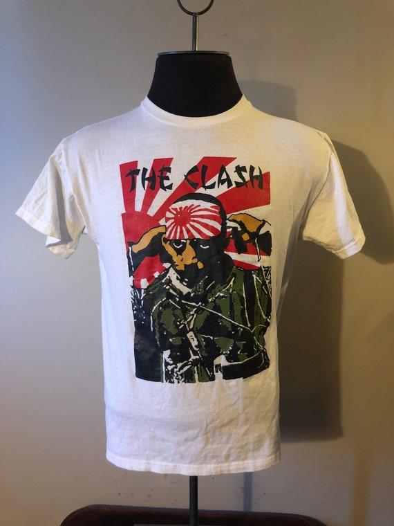 Vintage The Clash Kamikaze Shirt