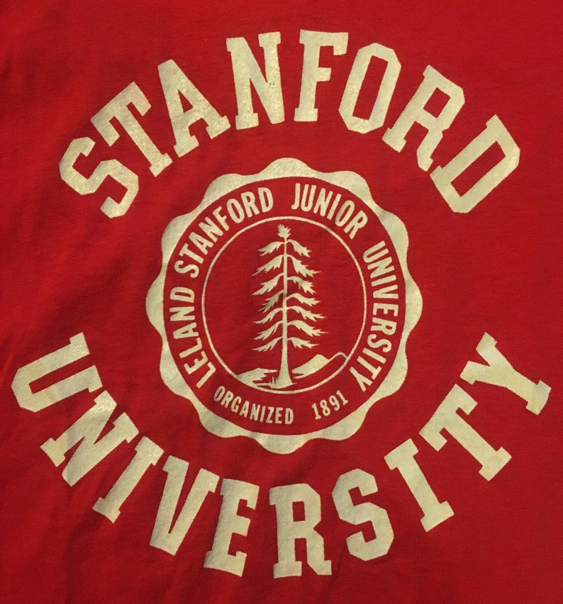 Vintage Stanford University Ched by Anvil tshirt