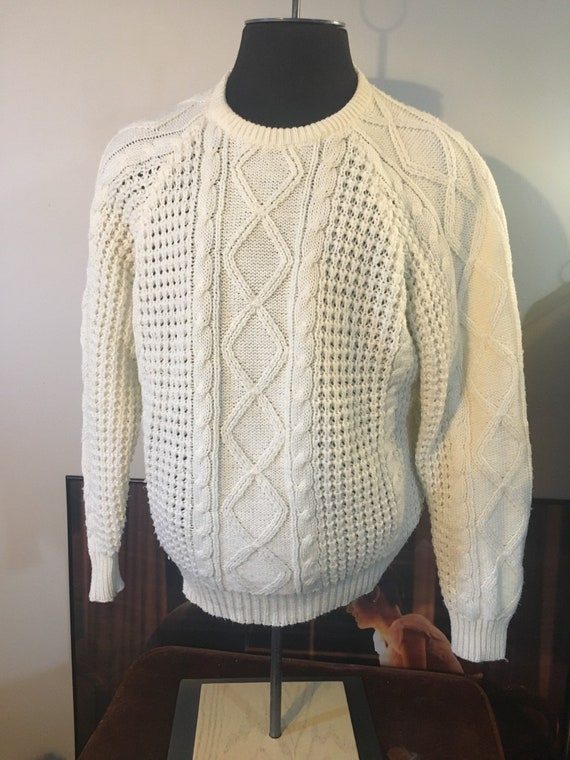 Vintage Sears Cable Knit Sweater
