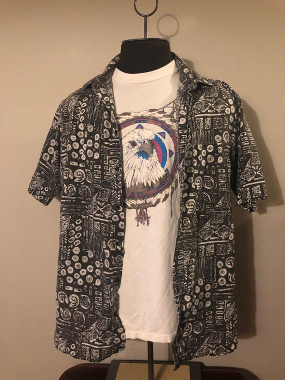 Vintage Abstract Shirt by Ridgewood - image 2