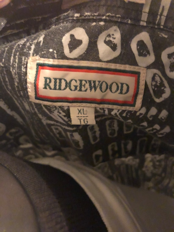Vintage Abstract Shirt by Ridgewood - image 4