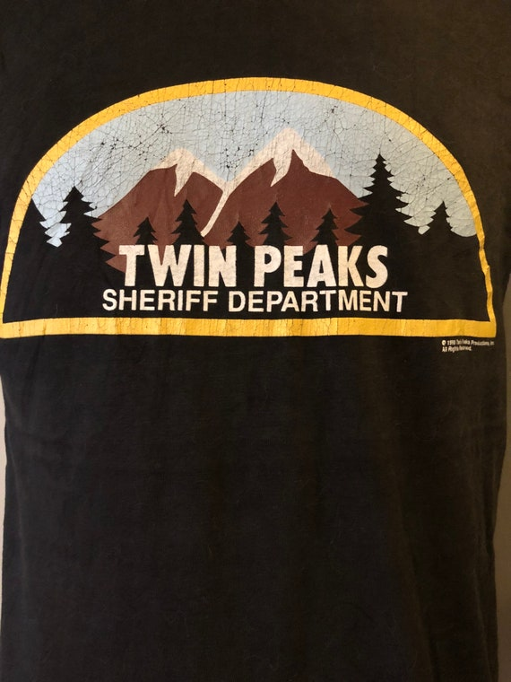 Vintage Twin Peaks Shirt David Lynch 90s