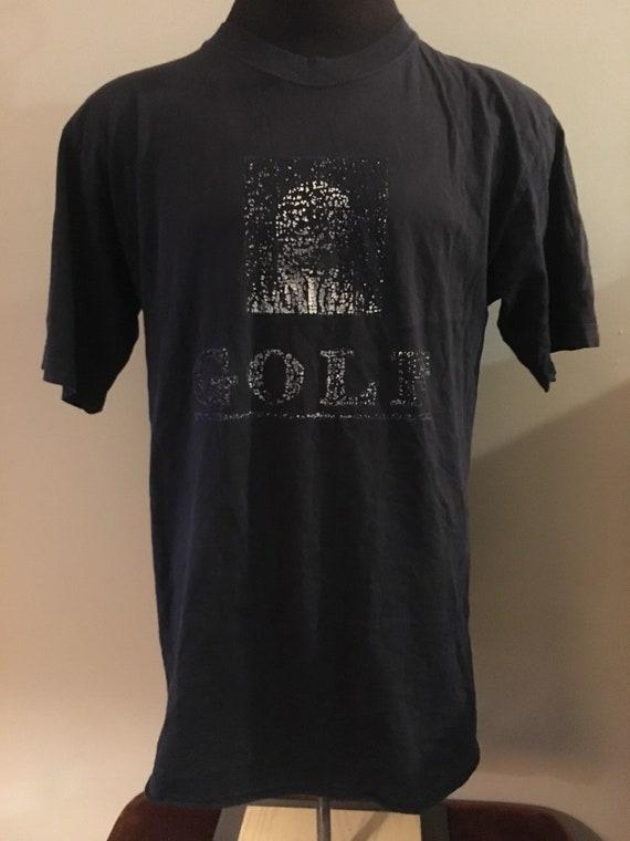 Vintage Golf Sports grunge Tshirt