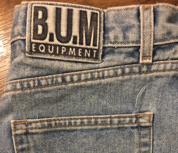 "Vintage BUM Equipment Jeans 32""-34"" waist"