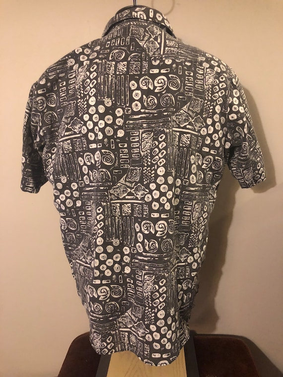 Vintage Abstract Shirt by Ridgewood - image 3