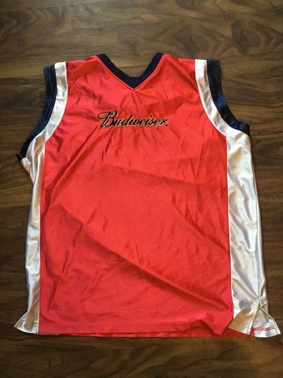 Budweiser Basketball Jersey