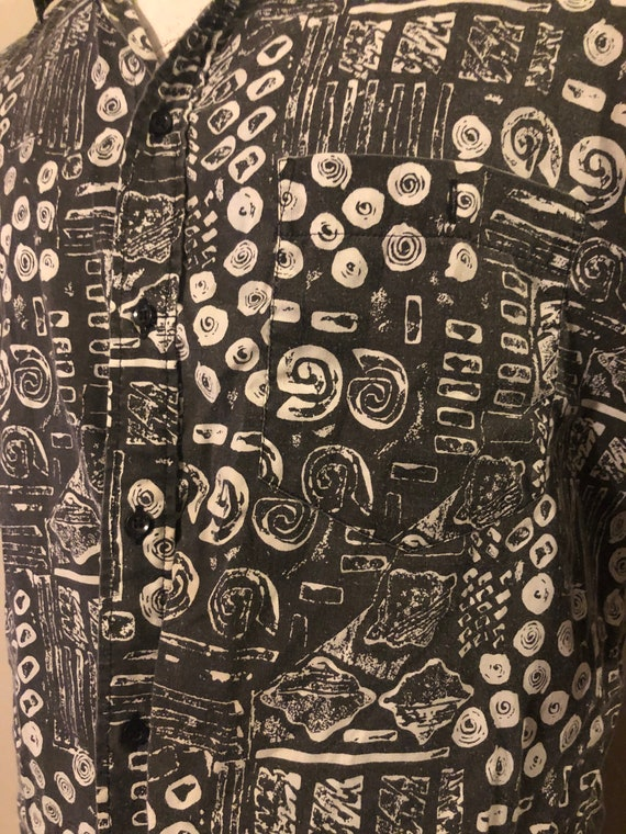 Vintage Abstract Shirt by Ridgewood - image 5