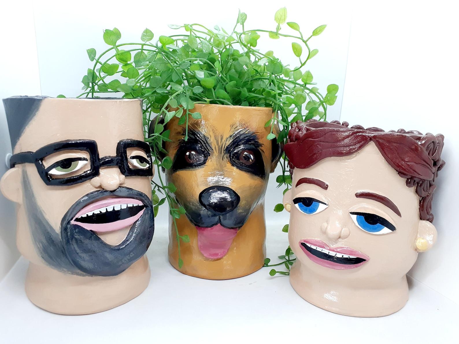 Lookalike planters