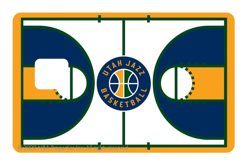 Courtside Utah Jazz