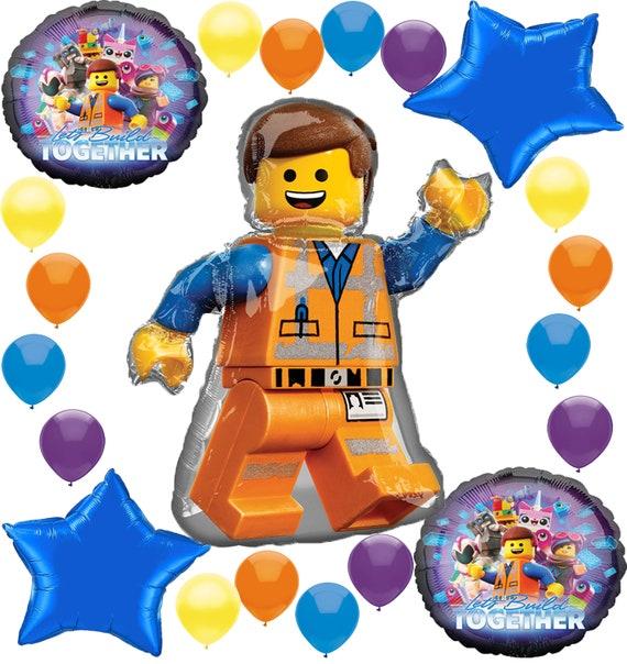 Lego Movie 2 Deluxe Balloon Decoration Bundle