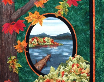 Fall Reflections PDF Quilt Pattern