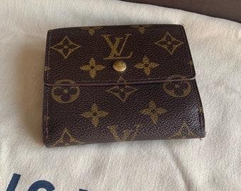 95b6cbad1baa Only 3 days left on sale - Authentic Louis Vuitton Wallet   Vintage LV  Elise Monogram Wallet Handbag Designer   layaway options