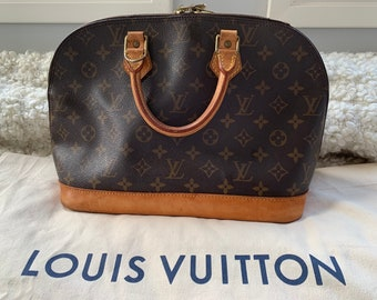0a189334c7b9 Sale Ends Friday Morning - Authentic Louis Vuitton Alma Handbag   LV bag
