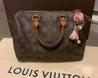 d8ecfa015c46 Authentic Louis Vuitton monogram Speedy 25 handbag   Vintage LV bag purse