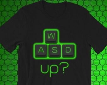 Wasd shirt | Etsy