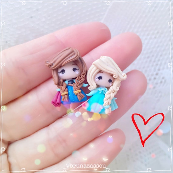 Elsa Earrings Disney Stainless  Hook New Frozen Princess Queen Ice Anna Sister