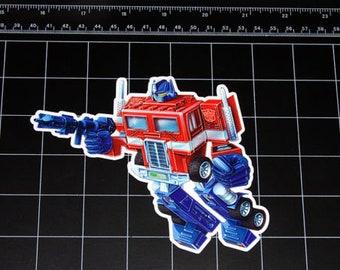 Transformers G1 boues Box Art Vinyle décalque autocollant Autobot Dinobots Années 1980 80 S