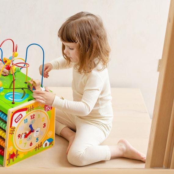 Éco Enfants Merino Wool Gilet Naturel Bébé Junior Gilet sans Manches Gilet