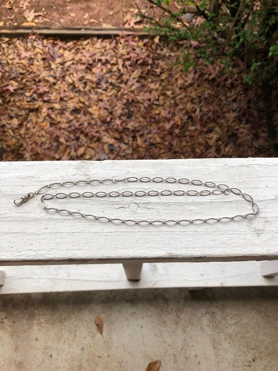 Victorian Sterling watch chain