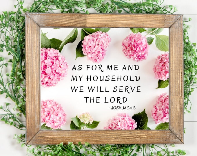 Bible Verse Wall Art, Bible Verse Flower Printable, Bible Verse Psalms, Bible Verse Quotes, Bible Verse Home Decor