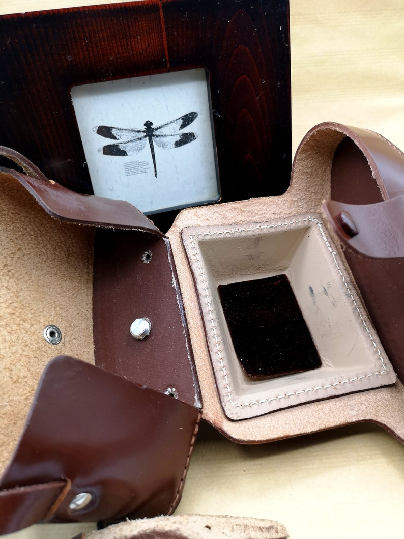 Vintage FEX leather case for camera