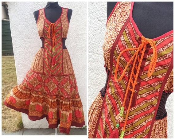 Vintage Ritu Kumar  Indian ( boumwolle ) cotton ha