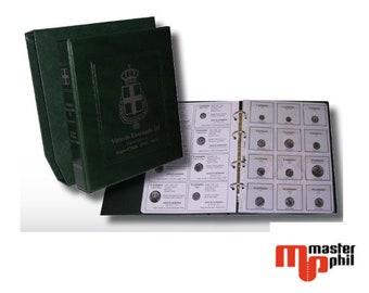 Album raccoglitore TIPOLOGICO con custodia per monte del Regno d'Italia V.E. II Umberto I V.E.III